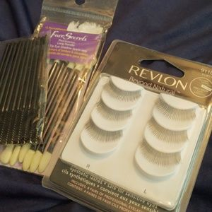 NWT Lashes & Applicators